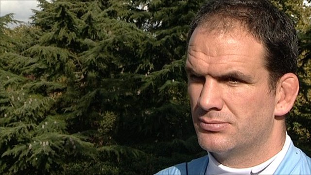 England manager Martin Johson