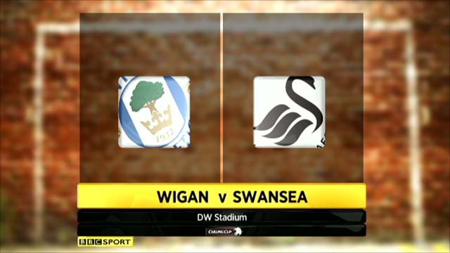 Wigan v Swansea