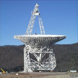 Green Bank Telescope in West Virginia (NRAO)