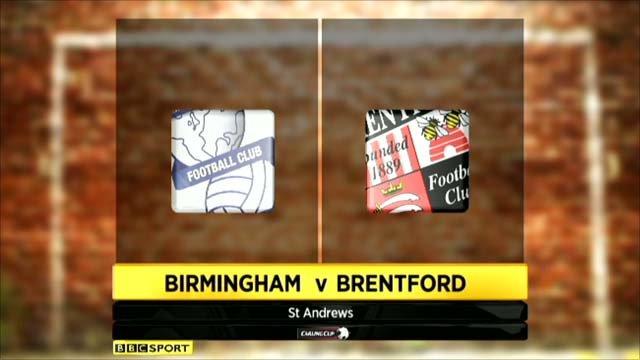 Birmingham v Brentford