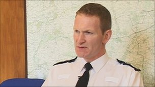 Chief constable Brian Moore