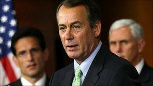 Eric Cantor, John Boehner, Mike Pence