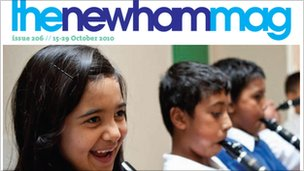 The Newham Mag cover