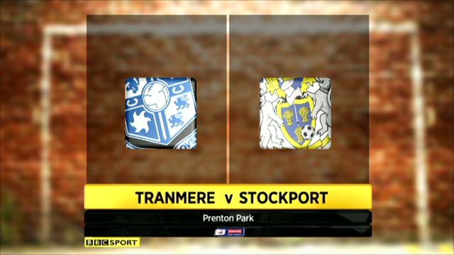 Tranmere 0-0 Stockport (4-3 pens)