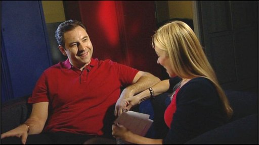 David Walliams in the Newsround Hotseat with Hayley