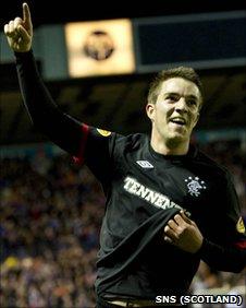 Rangers forward Andrew Little