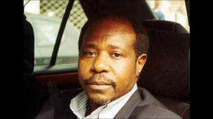 Paul Rusesabagina photographed in 2001