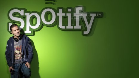 Spotify founder Martin Lonentzon