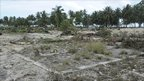 Tsunami damage in Pagai islands, Indonesia (27 Oct 2010)