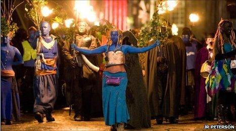 Samhuinn procession