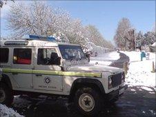 Oxfordshire's St John Ambulance 4x4
