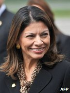 Laura Chinchilla, President of Costa Rica