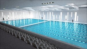 Work On Aberdeen Aquatics Centre Under Way Bbc News