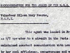 Extracts form Eileen Nearne's files