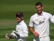 Steven Davies and Chris Tremlett