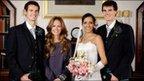 Andy Murray, Kim Sears, Alejandra Gutierrez and Jamie Murray. Pic: Alan Hutchison Photography