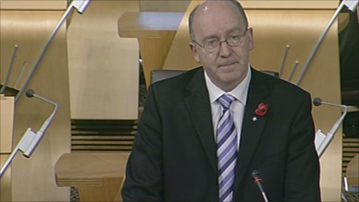 SNP MSP Willie Coffey leads a member's debate on young offenders' communication support