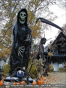 Grim Reaper model of Eric Lowther