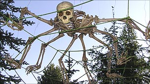 Skeleton Spider by Darkwing Manor