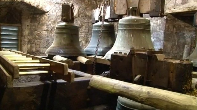 Bells at St Mary's Church, Builth Wells, Powys