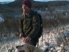 Moose hunter Dan
