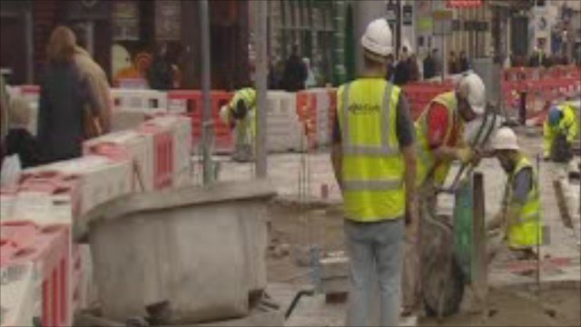 Castle Street roadworks