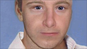 Age-progressed image of Ben Needham