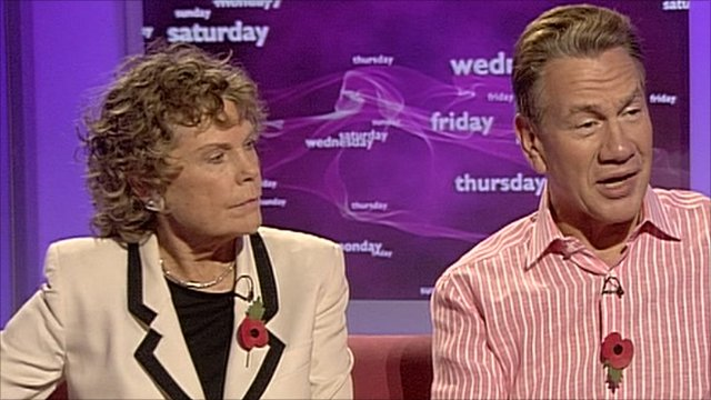 Kate Hoey and Michael Portillo