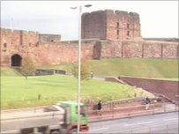 Carlisle Castle webcam