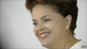 Dilma Rousseff, newly-elected President of Brazil