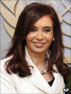 Cristina Fernandez de Kirchner, President of Argentina