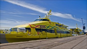 Severn Link &#039;fast cat&#039; ferry
