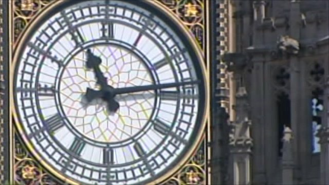 House of Commons clock