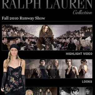 Ralph Lauren's iPhone app