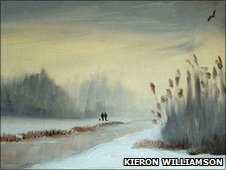 Winter Lakeside by Kieron Williamson (Copyright: Kieron Williamson)