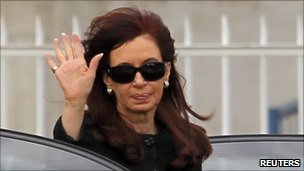 Ex-leader Kirchner to be buried in southern Argentina