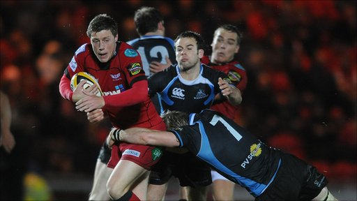 Scarlets relieved at Glasgow win
