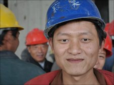 Migrant worker in Shanghai