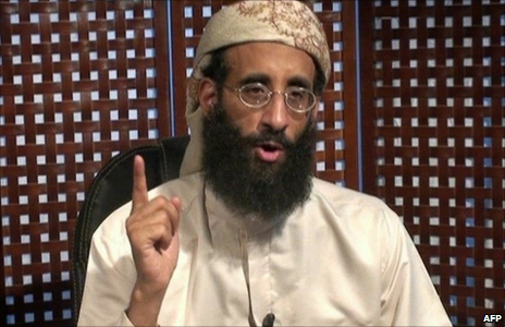 Anwar al-Awlaki appears in a video lecture (26 September 2010)