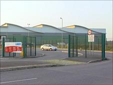 Battlefield recycling centre