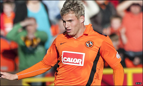 David Goodwillie scored the winner for United