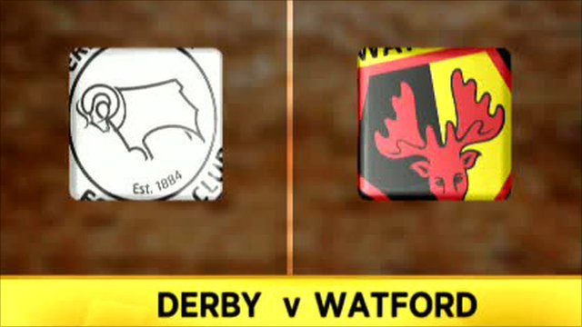 Derby 4-1 Watford