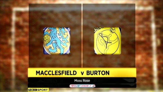 Macclesfield 2-1 Burton Albion