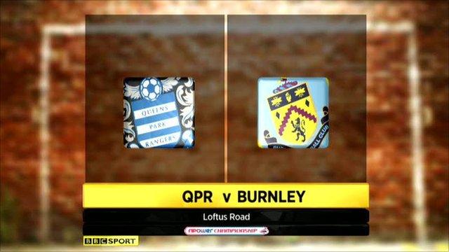 QPR 1-1 Burnley