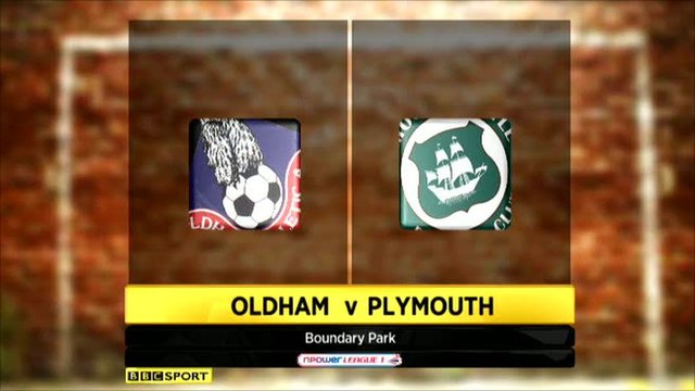Oldham 4-2 Plymouth