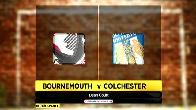 Bournemouth 1-2 Colchester