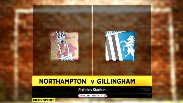 Northampton 2-1 Gillingham
