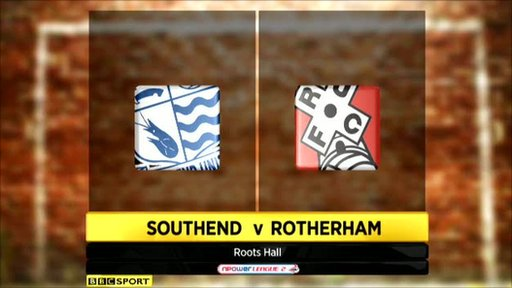 Southend 1-0 Rotherham