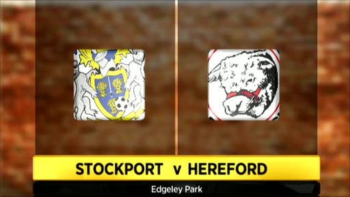 Stockport 0-5 Hereford United