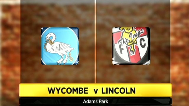 Wycombe 2-2 Lincoln City
